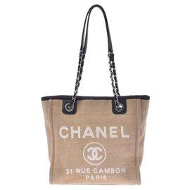 Chanel-Chanel Deauville-Beige