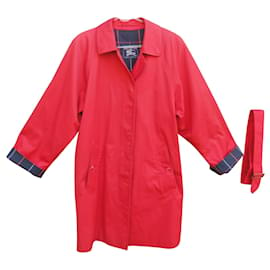 Burberry-Burberry woman raincoat vintage model Marfield t 40-Red