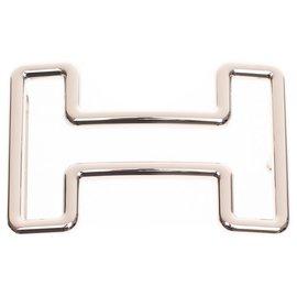 "Hermès-Hermès Gürtelschnalle ""Tonight"" großes Modell (40MM)-Silber"