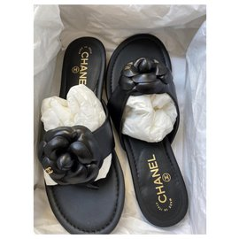 Chanel-Chanel mules-Black