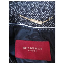Burberry-burberry london winter jacket t 40 new condition-Dark grey