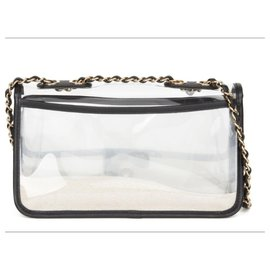 Chanel-Naked Sand by the sea flap bag-Other