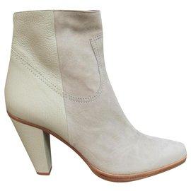 Chloé-Chloé p boots 37,5 new condition-Grey,Light green