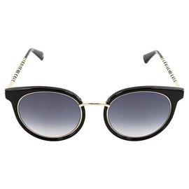 Balmain-Des lunettes de soleil-Noir