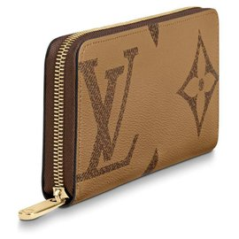 Louis Vuitton-portefeuille inversé zippy nouveau-Marron