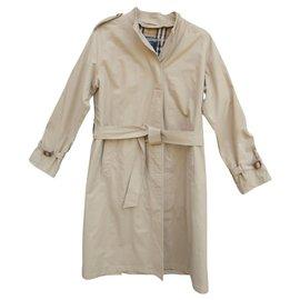 Burberry-light raincoat woman Burberry vintage t 38-Beige