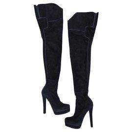 Gucci-boots-Noir
