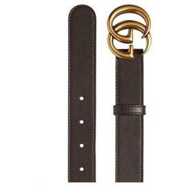 Gucci-Gucci belt new-Brown