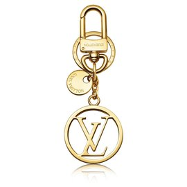 Louis Vuitton-Porte-clés LV nouveau-Doré