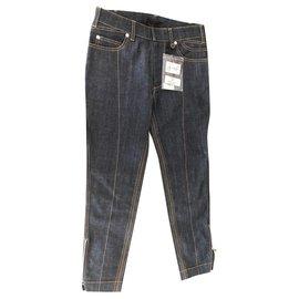 Louis Vuitton-Denim, bleu, jeans-Bleu