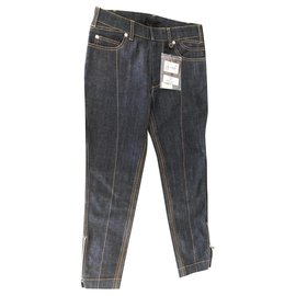 Louis Vuitton-Denim, blue, Jeans-Blue