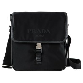 Prada-Prada messenger bag new-Black
