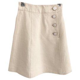 Chloé-Skirts-Eggshell