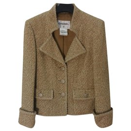 Chanel-Beautiful tweed jacket-Golden