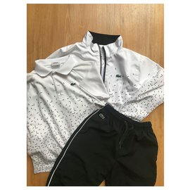 Lacoste-tenue de sport-Blanc
