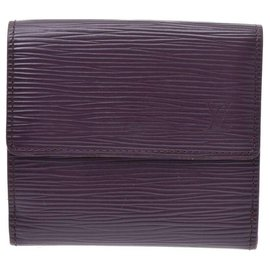 Louis Vuitton-Louis Vuitton wallet-Purple