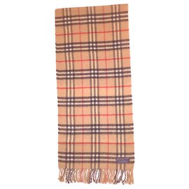 Burberry-BURBERRY vintage lambswool scarf-Multiple colors