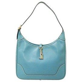 Hermès-Garniture Hermès-Bleu