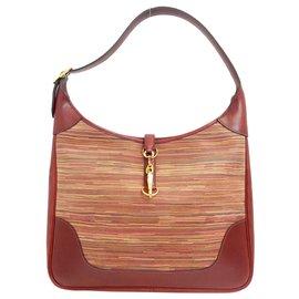 Hermès-Garniture Hermès 35-Rouge