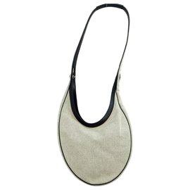Hermès-Hermès Vintage Sac à bandoulière-Gris