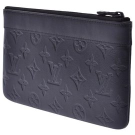 Louis Vuitton-Louis Vuitton Shadow Pochette-Noir
