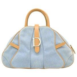 Dior-Sac Dior Boston-Bleu