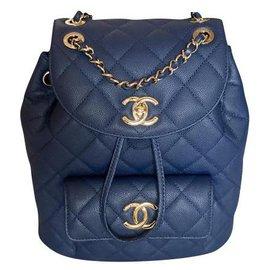Chanel-NEW Duma 20C backpack-Blue