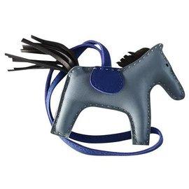 Hermès-RODEO PM-Bleu