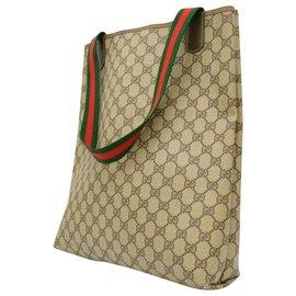 Gucci-Gucci Vintage Sac à bandoulière-Beige