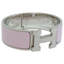 Hermès-Hermès Bangle Bracelet-Pink