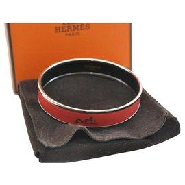 Hermès-Hermès Bangle Bracelet-Red