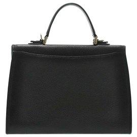 Burberry-Burberry Hand Bag-Black