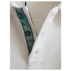 Leonard-Leonard new men's cotton polo shirt-White