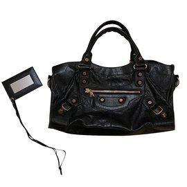 Balenciaga-Balenciaga work handbag-Black