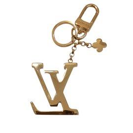 Louis Vuitton-Charmes de sac-Noir,Doré