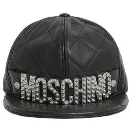 Moschino-Moschino cap new-Black