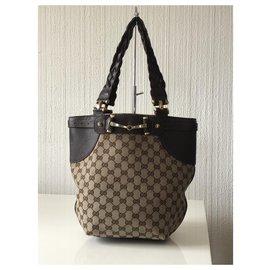 Gucci-Gucci handbag bag-Brown