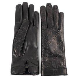Gucci-gucci gants neuf-Noir