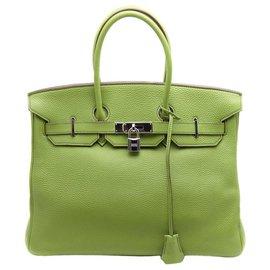 Hermès-couleur Birkin extrêmement unique 35-Vert