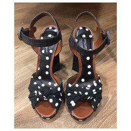 Dolce & Gabbana-Shape heel sandals-Other