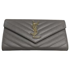 Saint Laurent-Portefeuille Monogram-Gris
