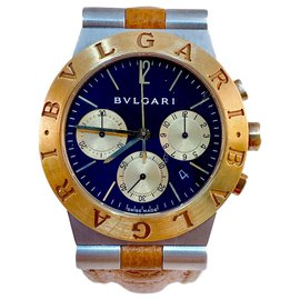 Bulgari-Bulgari Diagono CH35 SG-Golden