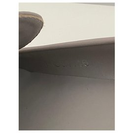 Chanel-Flats-Grey