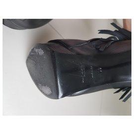 Yves Saint Laurent-Ankle Boots-Black