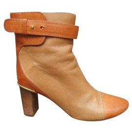 Chloé-Chloé p boots 36,5-Beige