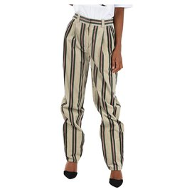 Burberry-Burberry trousers new-Multiple colors