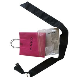 Pinko-Pinko belt-Black