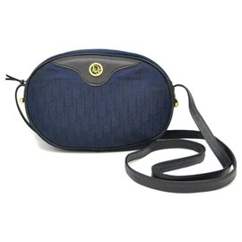 Dior-Sac à bandoulière Dior Trotter-Bleu