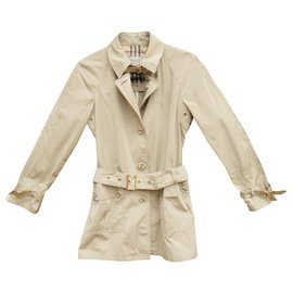 Burberry-Burberry light waterproof jacket in trench t style 38/40-Beige