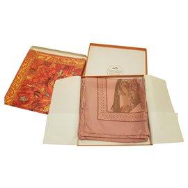 Hermès-Hermes La Danse du Cheval Marwari-Pink
